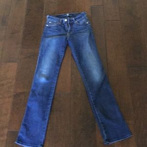 7 For All Mankind Jeans. Kimmie straight leg